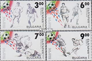 Bulgaria 4115-4118 (Complete.Issue.) 1994 Football-WM in U.S. (Stamps for Collectors) Soccer