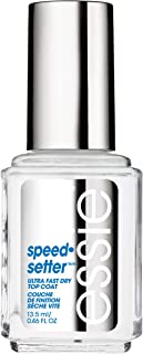essie speed.setter ultra fast dry top coat, 0.46 Fl Oz (Pack of 1)