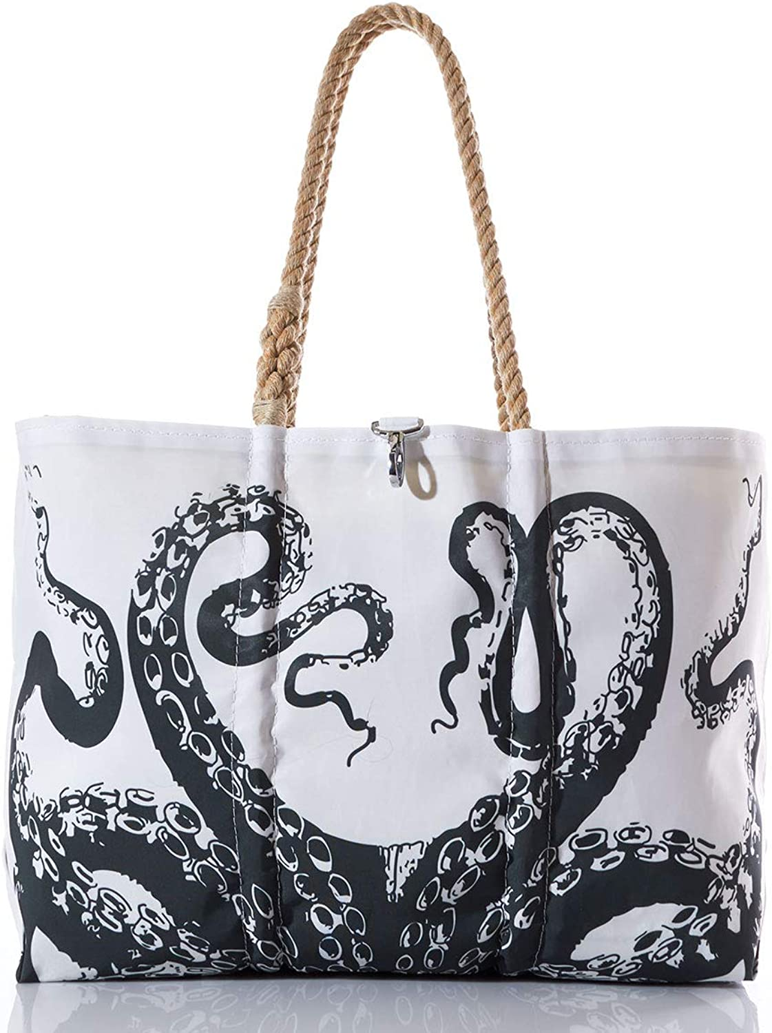 Sea Bags Recycled Sail Cloth Octopus Tote