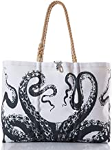 product image for Sea Bags Recycled Sail Cloth Octopus Tote Large