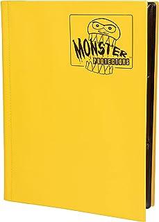 Monster Binder - 9 Pocket Trading Card Album - Matte Yellow - Holds 360 Cards