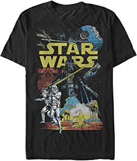 Star Wars Men's Rebel Classic Graphic T-Shirt
