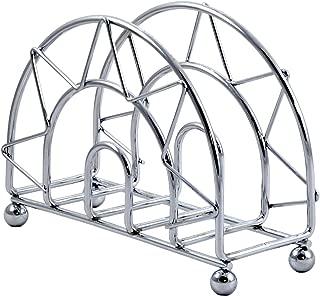 Napkin Holder, Folding Rings Stainless Steel