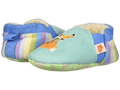 Acorn Kids Easy On Moc Tots (Infant) (Teal Fox) Girls Shoes