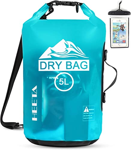 discount HEETA online sale Waterproof wholesale Dry Bag for Women Men, 5L/ 10L/ 20L Roll Top Lightweight Dry Storage Bag Backpack with Phone Case for Travel, Swimming, Boating, Kayaking, Camping and Beach online