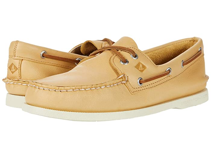 Sperry  A/O 2-Eye Whisper (Yellow) Mens Shoes