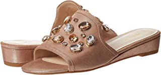 Ninewest Tuchi Sandal For Women, Rose Gold, Size 39.5 EU