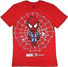 Tokidoki Marvel Spidey Men's Red T-Shirt