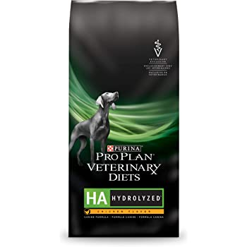 Purina Pro Plan Veterinary Diets HA Hydrolyzed Chicken Flavor Canine Formula Dry Dog Food - 25 lb. Bag