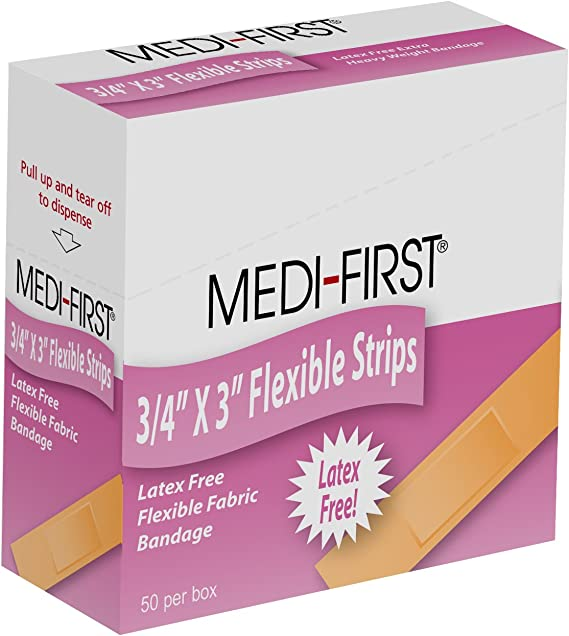 Medique Products 67550 Latex Free Woven Strip Bandage
