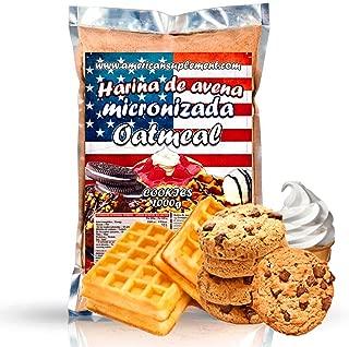 American Suplement - 1000 gr - Harina de Avena (COOKIES