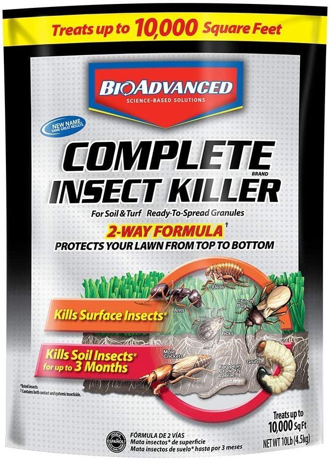 店内限界値引き中&セルフラッピング無料 ファッション通販 Bayer 700288S Advanced Complete Insect Soil and for Killer Turf