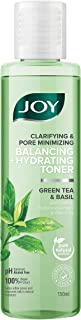 Joy Clarifying and Pore Minimizing Balancing + Hydrating Toner   Green Tea and Basil   With Soothing Hyaluronic Complex & ...