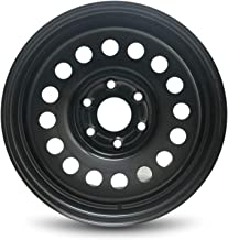 Road Ready Car Wheel For 2007-2019 Chevrolet Avalanche 1500 Chevrolet Silverado 1500 Cadillac Escalade ESV Cadillac Escalade EXT Chevrolet Tahoe 17 Inch 6 Lug Black Steel Rim Fits R17 Tire - Exact OEM