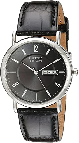 BM8240-03E Eco-Drive Leather Watch
