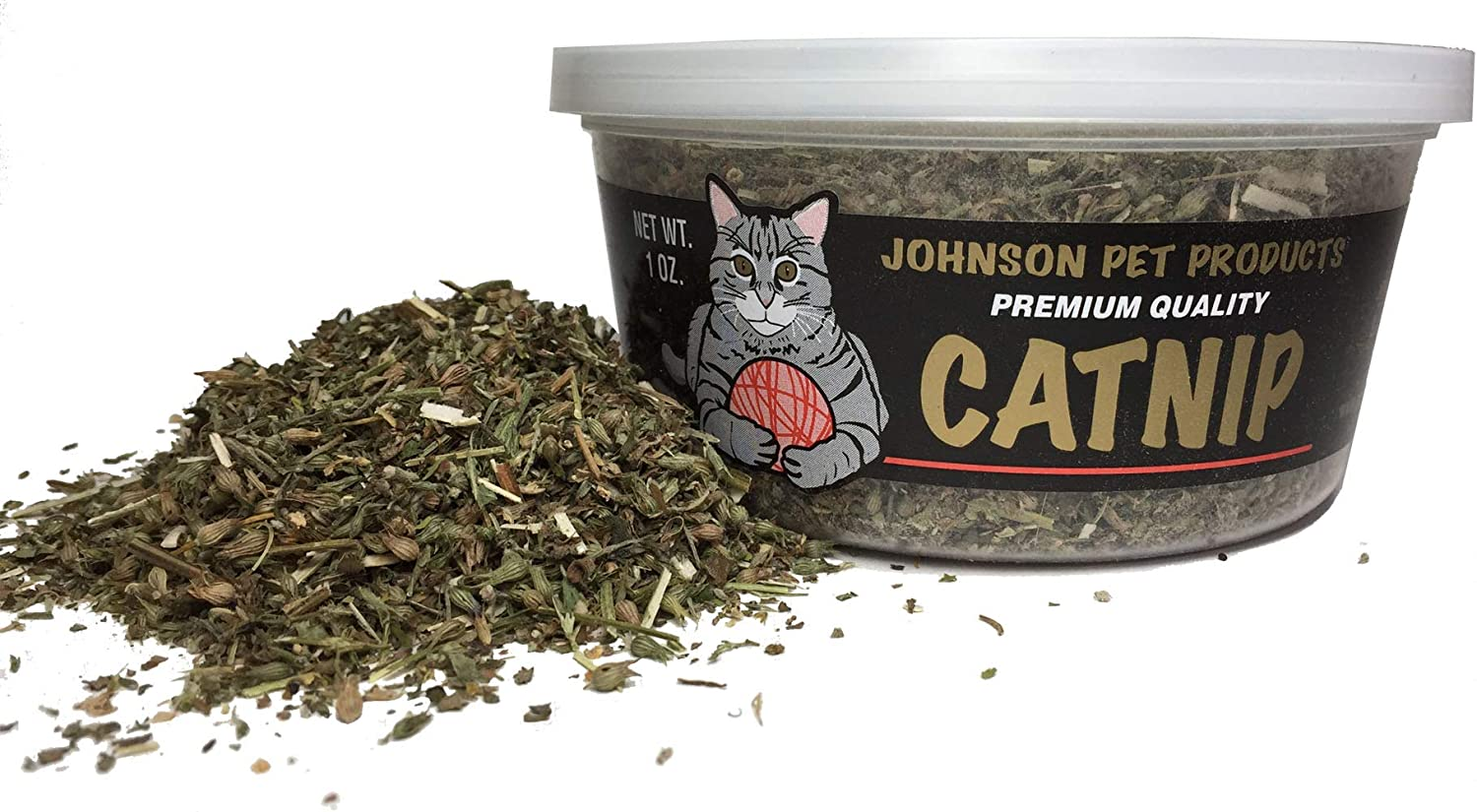 Johnson Pet Products 1 oz. Crazy Catnip Cat Max 61% OFF Container Super Special SALE held