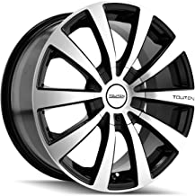Touren TR3 3130 Black Wheel with Machined Face (17x7