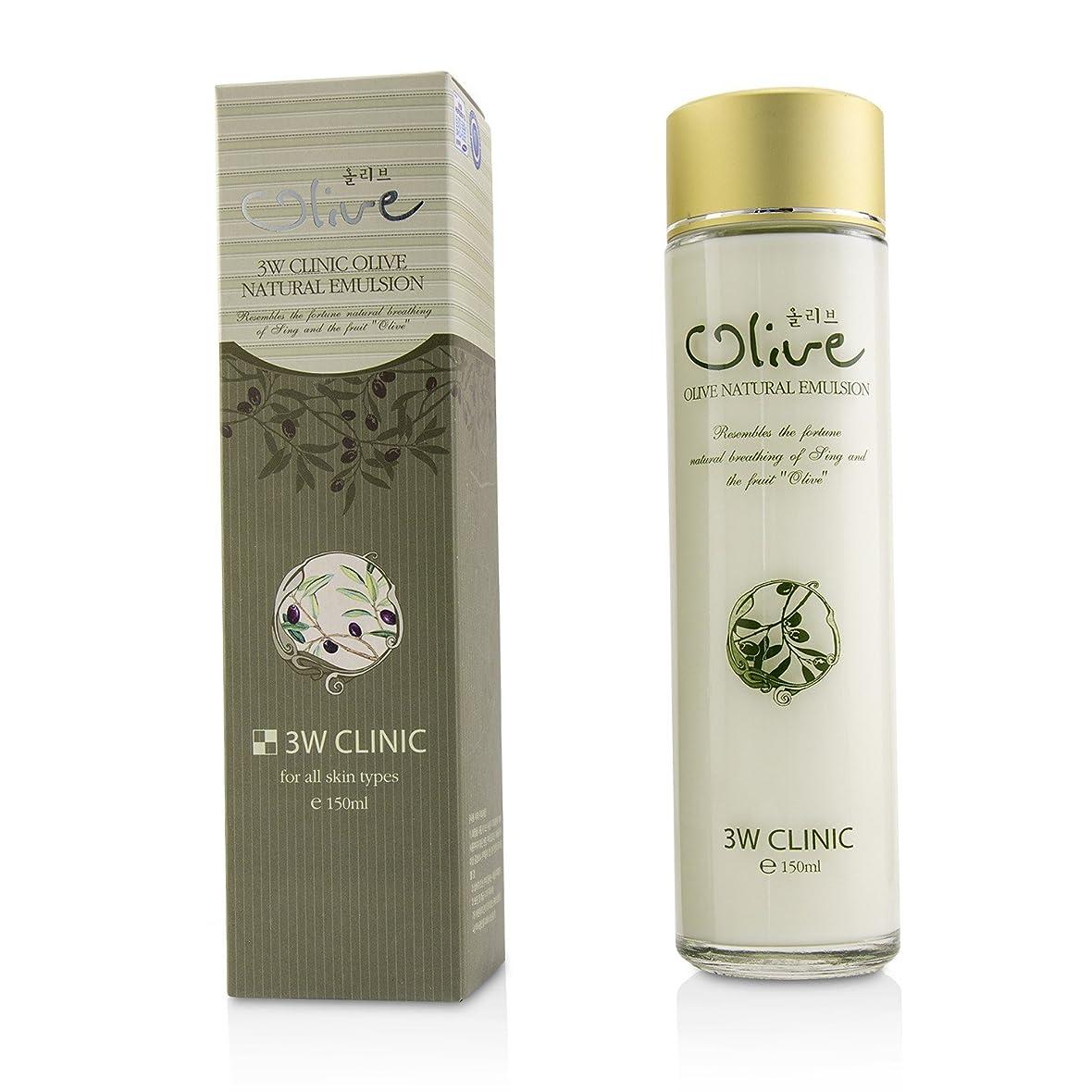 みがきます会話ストライド3Wクリニック Olive Natural Emulsion 150ml/5oz並行輸入品