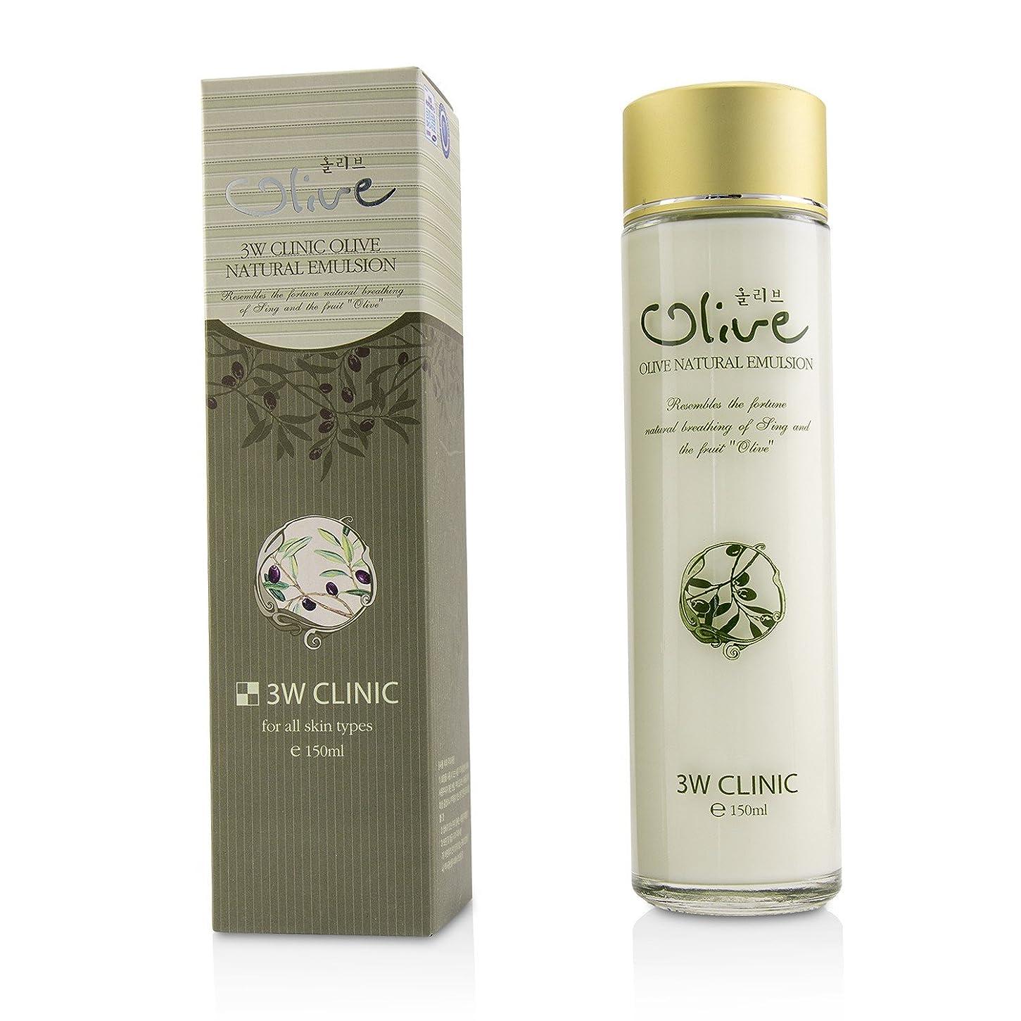 空虚群がるエーカー3Wクリニック Olive Natural Emulsion 150ml/5oz並行輸入品