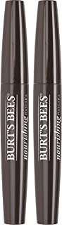 Burts Bees 100% Natural Nourishing Mascara, Classic Black - 0.4 Ounce (Pack of 2)