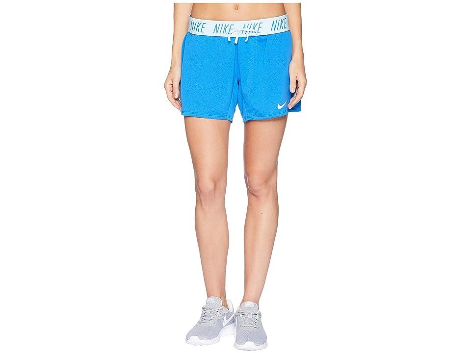 Nike Flex Attack Training Short (Signal Blue/Cobalt Tint) Women