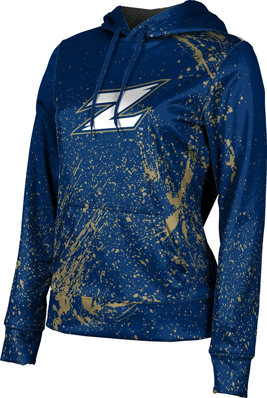 ProSphere University of Akron Girls' Pullover Hoodie, School Spirit Sweatshirt (Splatter)