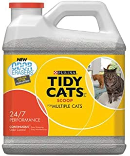 Tidy Cats Scoop Cat Litter Box, For Multiple Cats, 20 Lbs