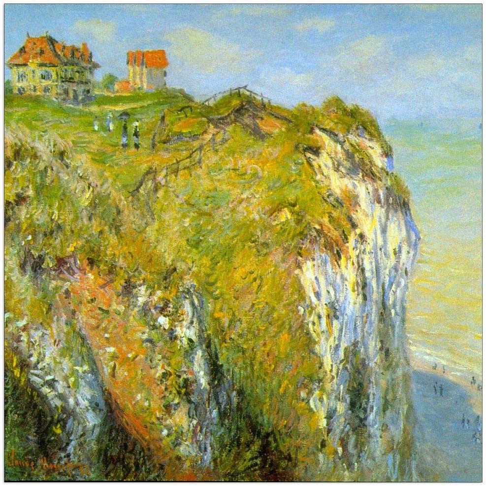 ArtPlaza Ranking TOP12 Monet Claude - Cliffs 15.5x15.5 Inch Decorative Panel Oklahoma City Mall