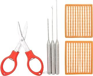Mimilure 6 in 1 Carp Fishing Baiting Rig Tool Set Fishing Rigging Needle Swinger Driller Carp Fishing Tackle Kit