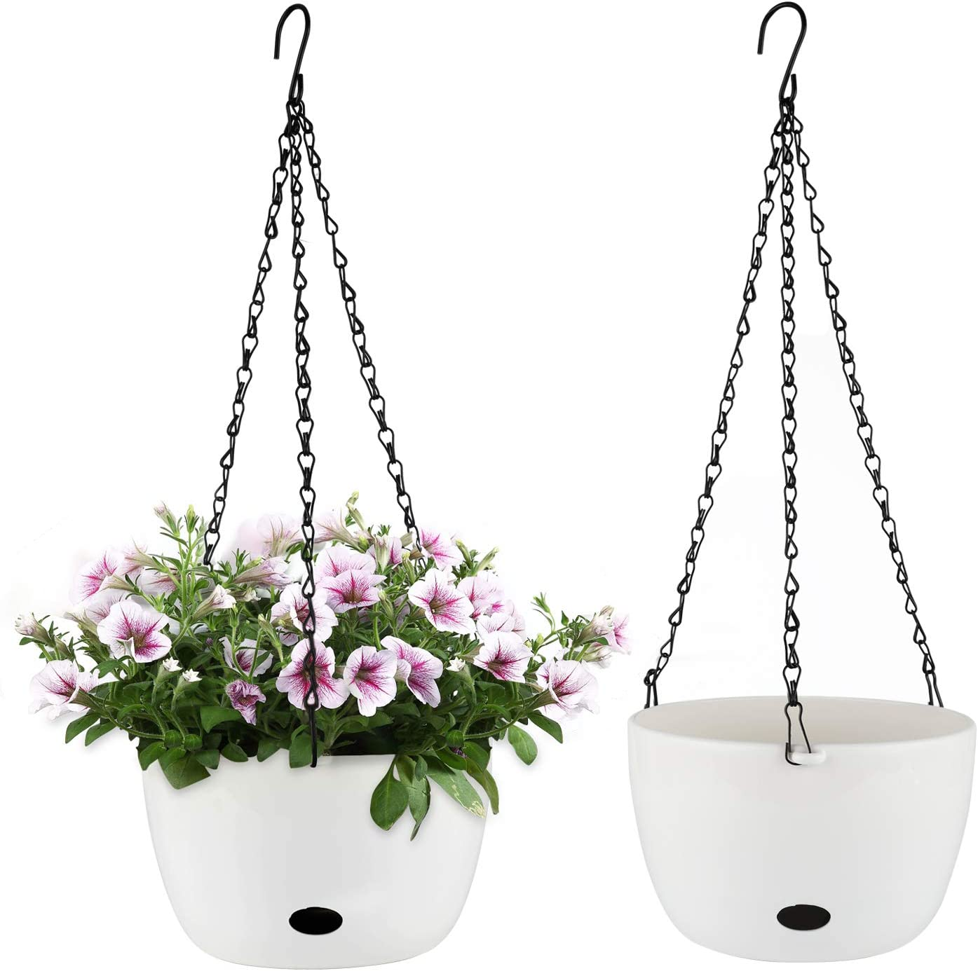 T4U Self Watering Hanging Planter Pot with Inch 8 supreme Weekly update Hole