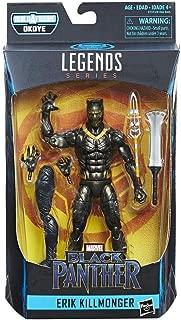 Marvel Legends Black Panther Erik KILLMONGER 6 Inch Action Figure BAF Okoye Series