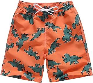 LAUSONS Pantalones Cortos de Playa con Estampado para Niños