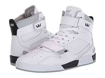 Supra Breaker (White/Black/White) Men