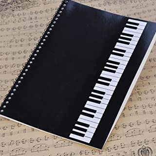 PUNK Music Manuscript Paper With 40 Pages Music Blank Sheet