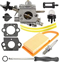 Anzac C1Q-S183 Carburetor with Air Filter Tune up kit for Stihl BR500 BR550 BR600 Backpack Blower with Adjusting Tool