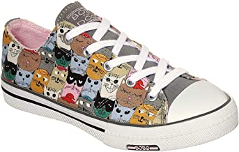 Skechers BOBS Utopia Clever Cats Womens Sneakers