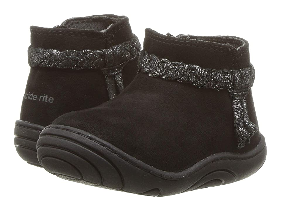 Stride Rite Maddie (Infant/Toddler) (Black) Girl
