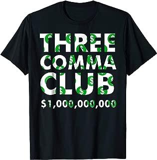 Best three comma club t shirt Reviews