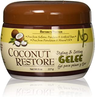 Nature's Protein Coconut Restore Styling & Setting Gelee 8oz, 8 Oz