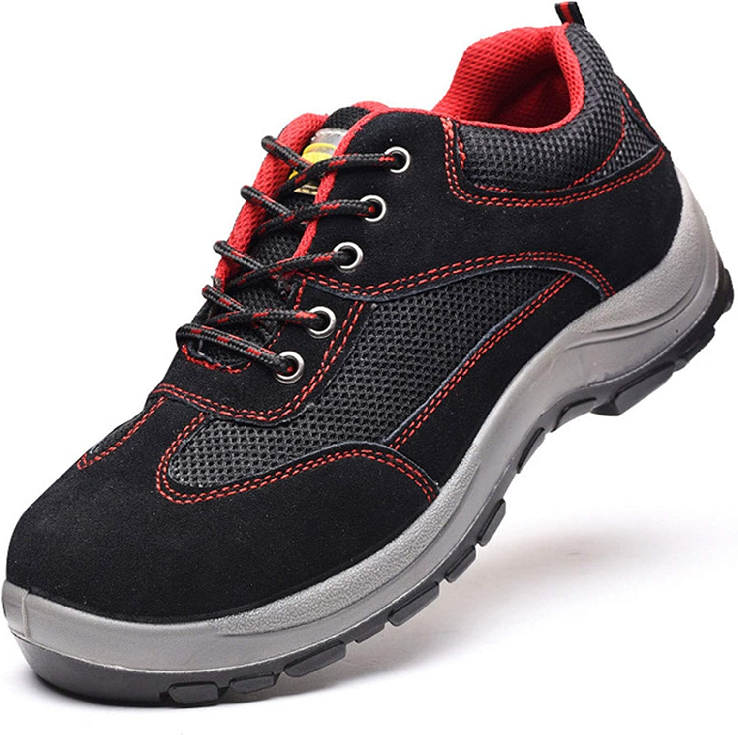Safety Shoes for Men Women Arlington Mall Steel Toe Cap Pu Max 49% OFF Lightweight Trainers