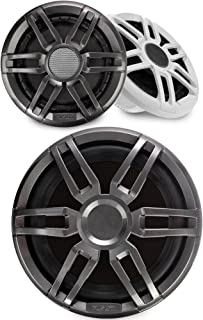 """$429 » Sponsored Ad - Fusion 1 Pair XS-F77SPGW XS Series 7.7"""" Marine Speakers with 1 Fusion XS-S10SPGW 10"""" Marine Subwoofers"""