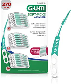 GUM Soft-Picks Advanced Dental Picks (Pack of 270)