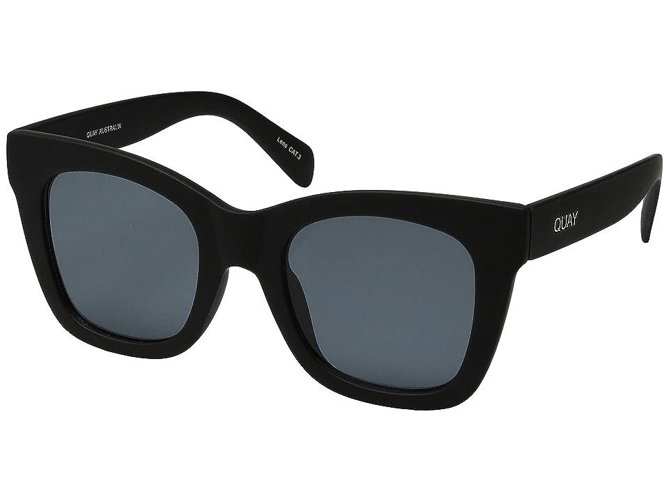 QUAY AUSTRALIA After Hours (Black/Smoke) Fashion Sunglasses
