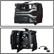 Spyder Auto 5083609 DRL LED Projector Headlights Version 3 Black DRL LED Projector Headlights