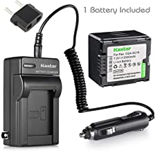 Kastar Battery and Charger for Panasonic PV-GS300 PV-GS31 PV-GS320 PV-GS33 PV-GS35 PV-GS36 PV-GS39 PV-GS40 as CGA-DU14 VW-VBD140
