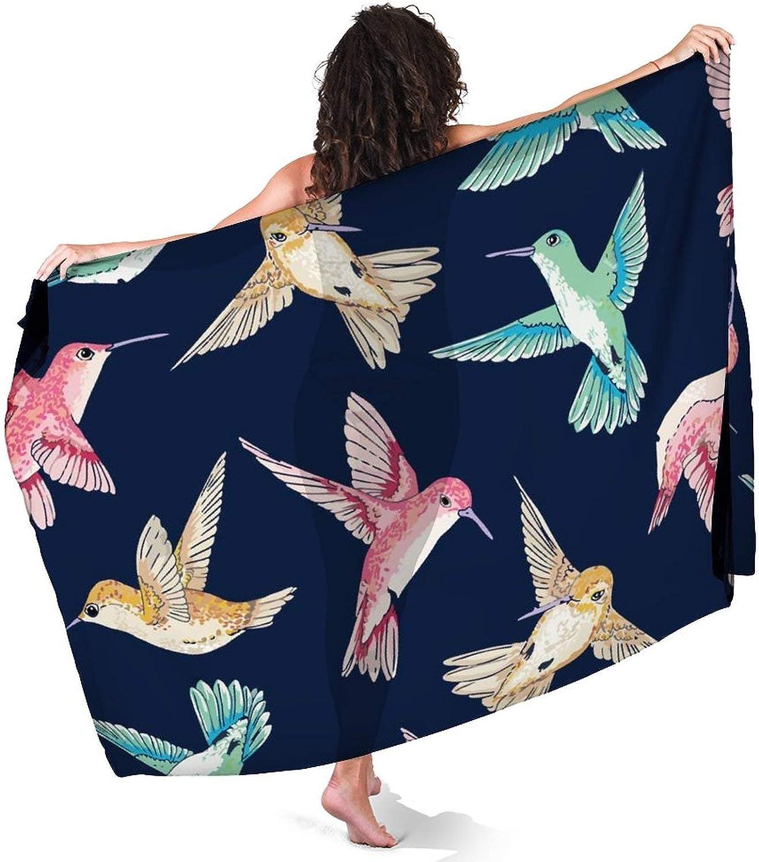 Keceur Women's Sarong Swimsuit Cover Up Summer Beach Wrap Skirt Swimwear Bikini Cover-ups