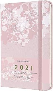 Moleskine 2021 Sakura Weekly Planner, 12m, Large, Hard Cover (5 X 8.25)