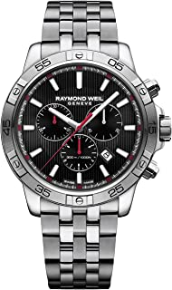 d69f38f50 Raymond Weil Men's Tango 302 Quartz Watch with Stainless-Steel Strap,  Silver, 21