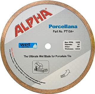 Best alpha porcellana wet saw blade Reviews