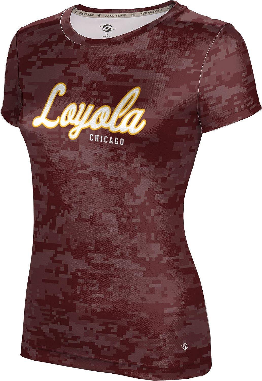 ProSphere Loyola University Chicago Girls' Performance T-Shirt (Digi Camo)